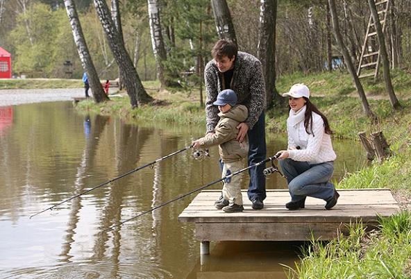 лучшая рыбалка в семье
